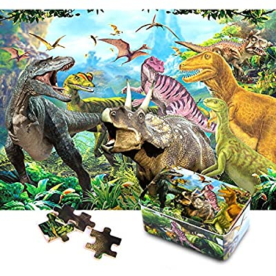 KULARIWORLD Wooden Jigsaw Puzzles for Kids 200 Piece Puzzle Toy of Educational Games for Kid Adults Preschool Learning Toys Set for Boys and Girls Intellectual Decompressing Fun Family Toys