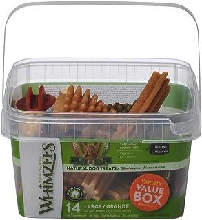 Whimzees Dog Dental Treats Variety Value Box Large 14 Pcs