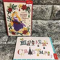ラプンツェル 立体クリスマスカード