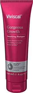 Viviscal Gorgeous Growth Densifying Shampoo for Thicker, Fuller Hair | Ana:Tel Proprietary Complex with Keratin, Biotin, Zinc | 8.45 Ounce