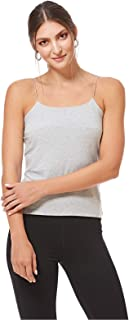 ICONIC Cami & Strappy Top for Women - Grey