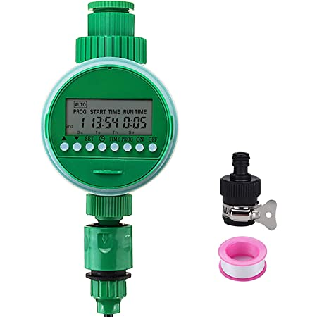 Jeteven Hose Faucet Water Timer, Programmable Sprinkler Filter Accessories  Kit, for Automatic Smart Garden Yard Lawn Greenhouse Drip Irrigation  Watering Plant System : Amazon.in: Garden & Outdoors
