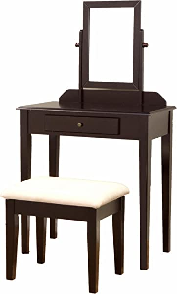 Coaster Home Furnishings 300079 2 Piece Vanity Set Espresso