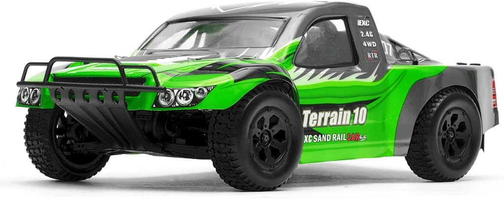 Popular overseas Exceed Bombing new work Racing Terrain 1 10 Scale Course Run Truck to Short Ready