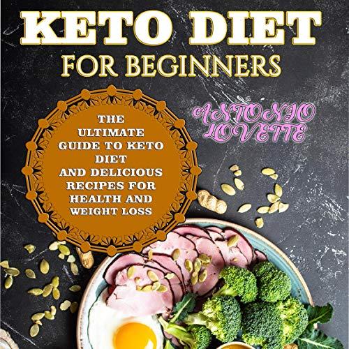 Keto Diet for Beginners cover art