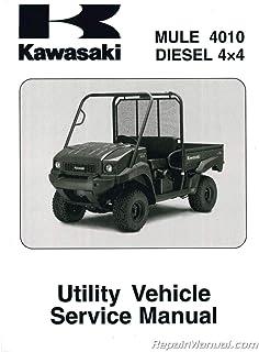 Amazon com: kawasaki mule service manual
