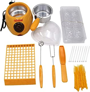 Chocolate Melting Pot, Single Pot & Mold Set (yellow)