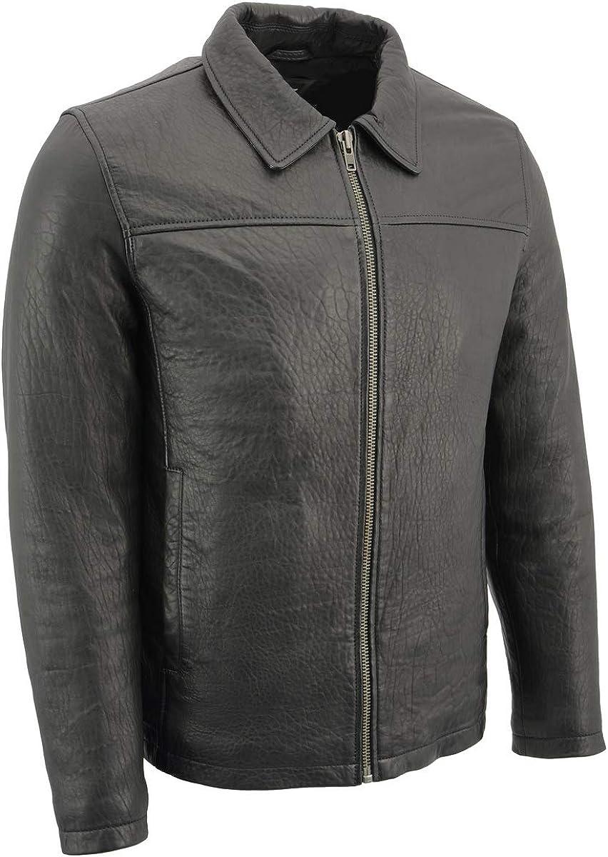 Milwaukee Leather SFM1875 Men's デポー Lambskin Zealand New wit 買物