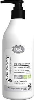 BallVic Follicution Scalp Rx Shampoo - Hair Growth Anti-Dandruff Shampoo Scalp Care Treatment of Seborrheic Dermatitis for Men and Women, All Hair Types 10.7 Fl Oz