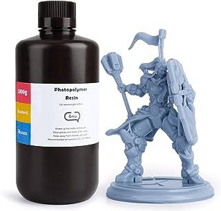 ELEGOO ABS-Like 3D Printer Rapid Resin LCD UV-Curing Resin 405nm Standard Photopolymer Resin for LCD 3D Printing 1000Gram ...