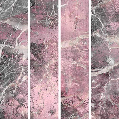 decomonkey PURO TAPETE | Deko Panel | Tapete ohne Rapport und Versatz Vlies Wanddekoration Design Tapetenrolle 10 m Wandtapete Fototapete Beton Betonoptik