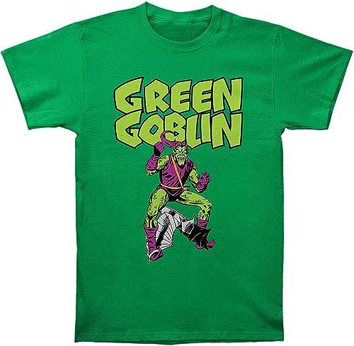 Hommes Marvel vert Goblin Classique en Coton de T-Shirt pour Femme