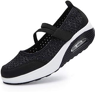 [todaysunny] 船型底ナースシューズ レディース ダイエットシューズ 厚底スニーカー 姿勢矯正 ダイエット 美脚 軽量 レースアップ ウォーキングシューズ 看護師 作業靴 歩きやすい 疲れない 婦人靴 厚底シューズ