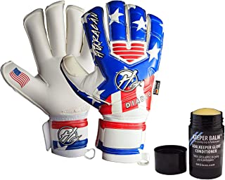 Huracan GK Diablo USA, Pro Quality Goalkeeper Gloves (Sizes 4-11), Removable 'Zero Tolerance' Fingersaves, Exceptional Value, 4mm German Latex - 30 Day Guarantee