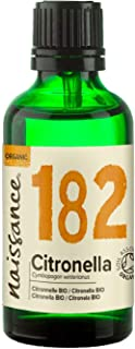 Naissance Citronela BIO - Aceite Esencial 100% Puro - Certificado Ecológico - 50ml