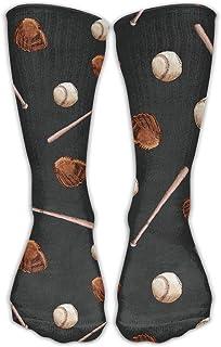 iuitt7rtree Baseball Ball Bat Unisex Novedad Crew Calcetines Vestido de Tobillo Calcetines Se Adapta al tamaño del Zapato ...