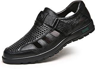 أحذية صيفية للرجال من CMM صنادل بأشرطة مقفلة من الأصابع صنادل الأعمال