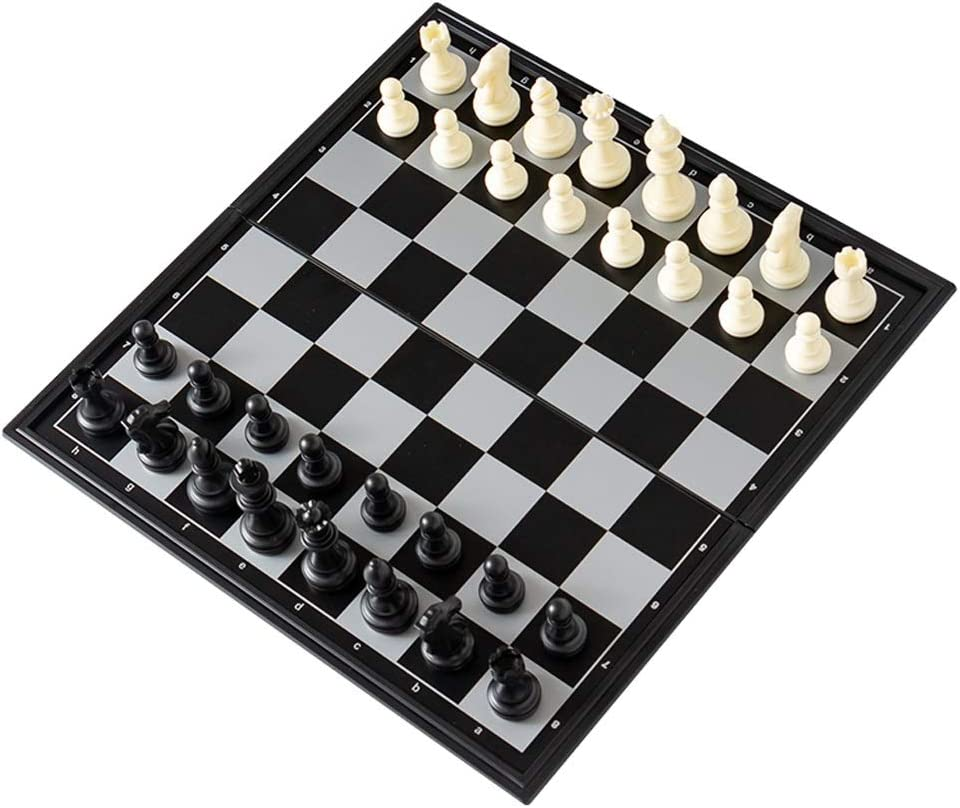 WYH Denver Mall Large special price !! Backgammon Chess Board Classic Plastic Folding Set Gam
