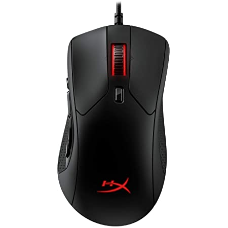 HyperX Pulsefire Raid – Gaming Mouse, 11 Programmable Buttons, RGB, Ergonomic Design, Comfortable Side Grips, Software-Controlled Customization