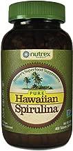 Pure Hawaiian Spirulina-500 mg Tablets 400 Count - Natural Premium Spirulina from Hawaii - Vegan, Non-GMO, Non-Irradiated - Superfood Supplement & Natural Multivitamin
