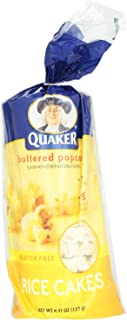 Quaker Rice Cakes Butter Popped Corn 4.5 OZ (Pack of 12)
