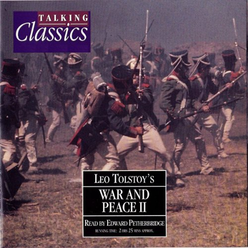 War and Peace, Part 2 audiobook cover art