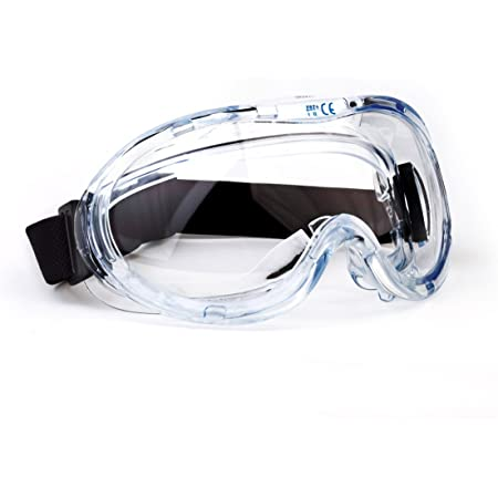 Clear Electroplated Portable Goggles Anti Fog UV Protection Shatter-Proof Barcley Protective Goggles Clear Wide Vision for Women Men Adult
