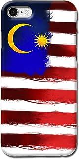 TBL 国旗设计哑光硬质手机壳适用于 iPhone 7 iPhone 8 [防刮]3D_Malaysia_ip7 Malaysia_ip7