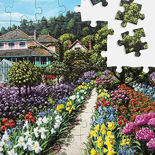 """Relish """"Monets Garten"""" Demenz-Puzzle 63 Teile Alzheimer-Aktivitäten/Puzzle & Demenz-Geschenke für Senioren"""