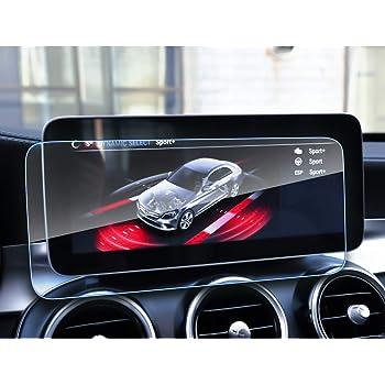 LFOTPP Mercedes-Benz Classe C CLS V GLC AMG 8,4 Pollici Navigazione Pellicola Protettiva in Vetro Temperato Screen Protector Film 9H Antigraffio HD Alta Trasparente Glass