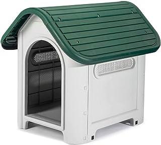 Gardiun KZT1005 - Caseta de Perro Kira Resina Beige/Verde
