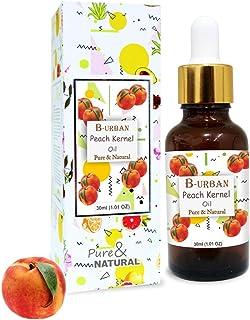 B-URBAN Peach Kernel Oil 100% Natural Pure Undiluted Uncut Carrier Oil 30ml