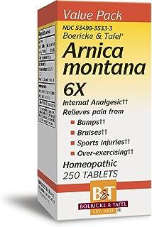 Boericke & Tafel Arnica Montana 6X Internal Analgesic Homeopathic, 250 Count