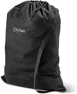 Personalized Laundry Bag - Monogrammed Laundry Bag - Black Bag