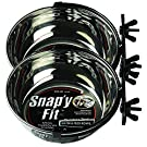 MidWest Homes for Pets Snap'y Fit Food Bowl/Pet Bowl, 40 oz. for Dogs, Cats & Small Animals