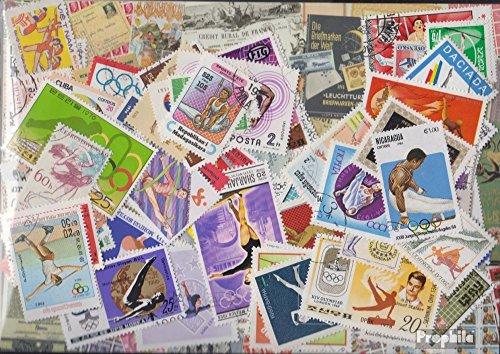 Prophila Collection Motivazioni 100 Diversi Turnsport (Francobolli per i Collezionisti) Altri Sport