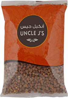 Uncle J's Black Chick Peas, 1 kg