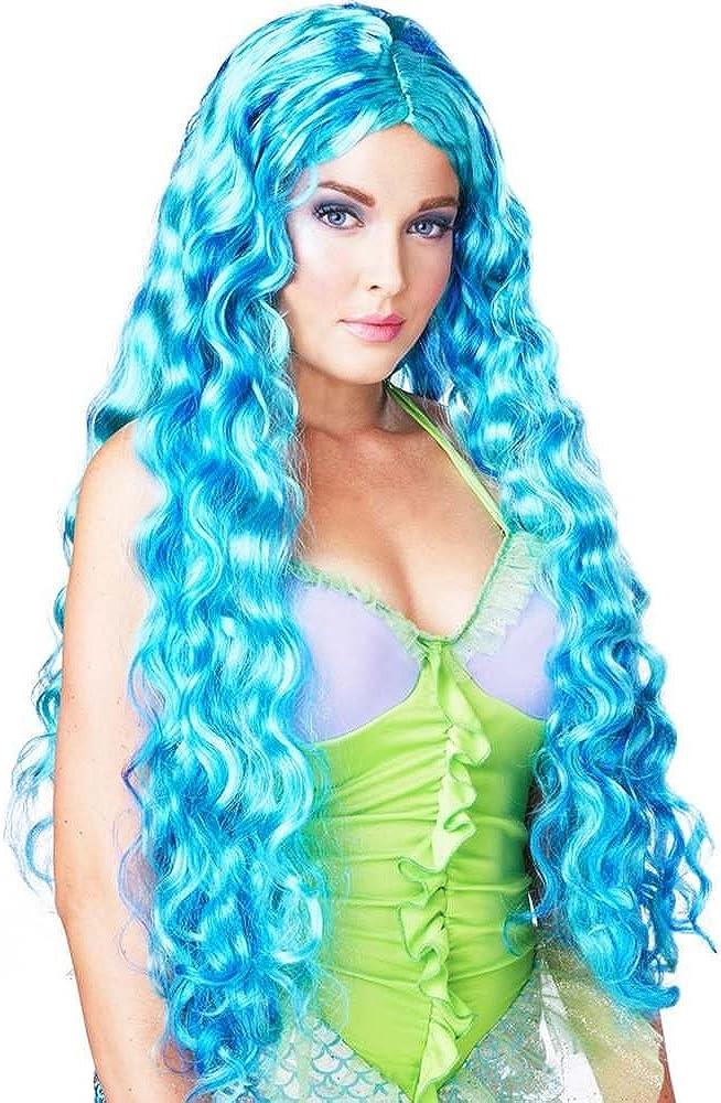 California Costumes Women's Sea Wig Siren Raleigh Japan's largest assortment Mall Mermaid Goddess
