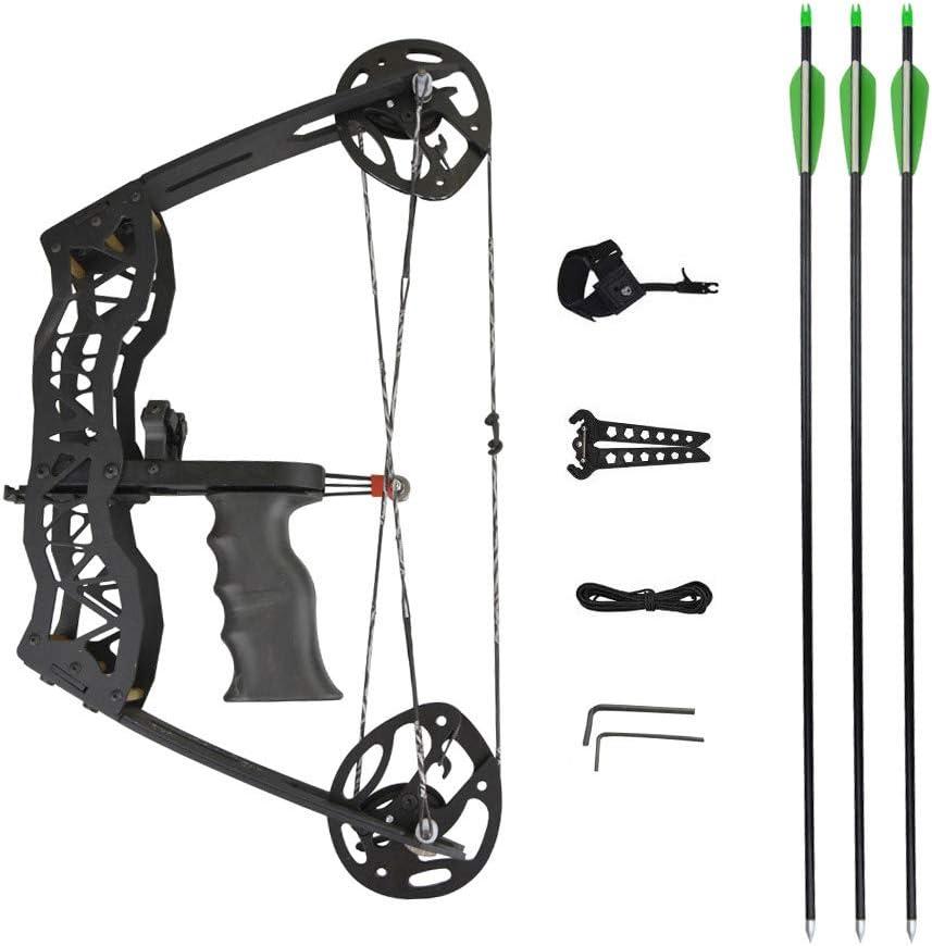 MILAEM Archery Los Angeles Ranking TOP18 Mall Compound Bow and Kits 35 Lbs Mini Arrow