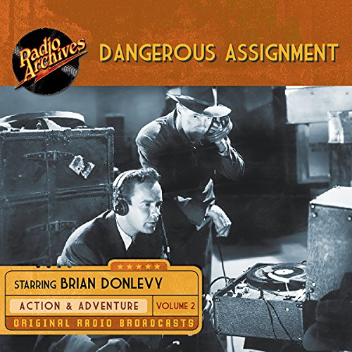 Dangerous Assignment, Volume 2 audiobook cover art