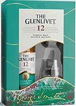 ザ・グレンリベット12年 グラス2個付き シングルモルトスコッチウイスキー ギフト箱入り スコットランド [ ウイスキー イギリス 700ml ] [ギフトBox入り]