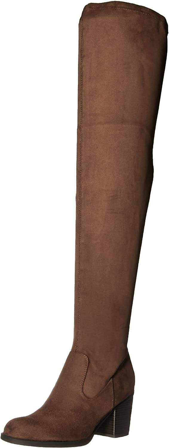 Natural Soul Womens Taraugh Over The Knee Boot