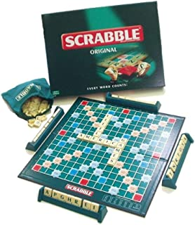 Scrabble Original English Board Game for Building Words