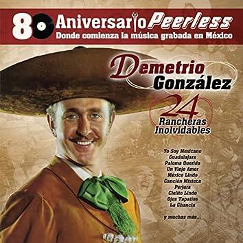 Peerless 80 Aniversario - 24 Rancheras Inolvidables