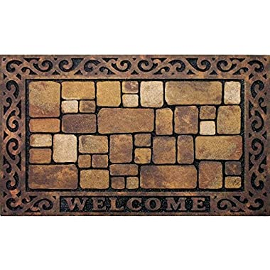 Apache Mills 60-732-1449-18x30 Masterpiece Aberdeen Welcome Door Mat, 18-Inch by 30-Inch