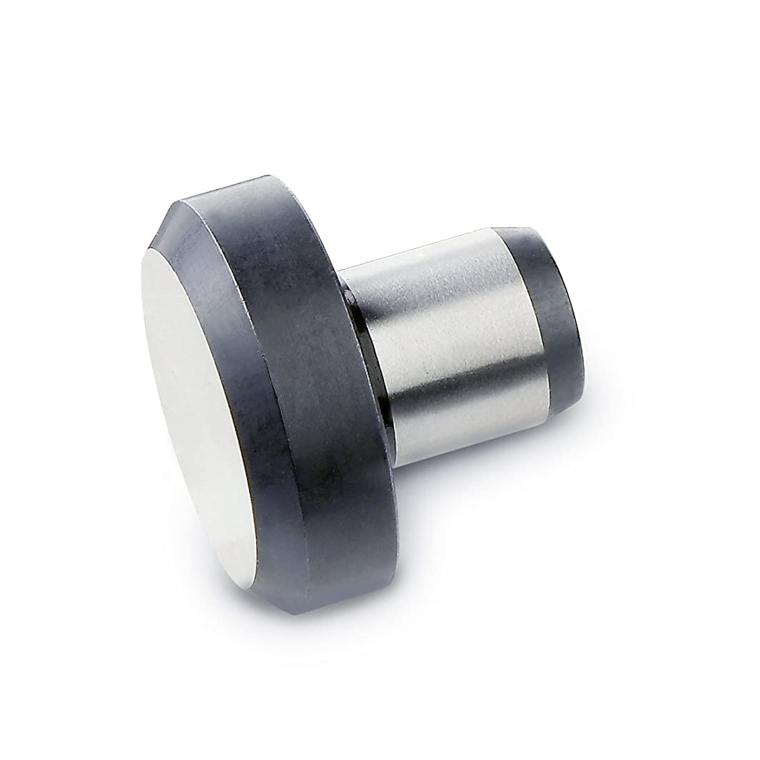 J.W. Winco 6321-16-8-A DIN6321 Locating Pin, Cylindrical without Center Hole, 8 mm Pin Diameter x 12 mm Pin Length, Steel
