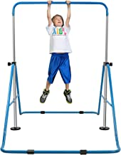 YEEGO Expandable Gymnastics Bar, Folding Horizontal Kip Bars Junior Premium Gymnastic Equipment Monkey Climbing Tower Home Training for Kids