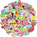 150 Pcs Waterproof Vinyl Vsco Girls Sticker Pack for Water Bottle Laptop Phone Case