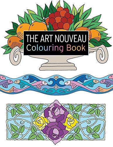 The Art Nouveau Colouring Book (The Colouring Book Series)