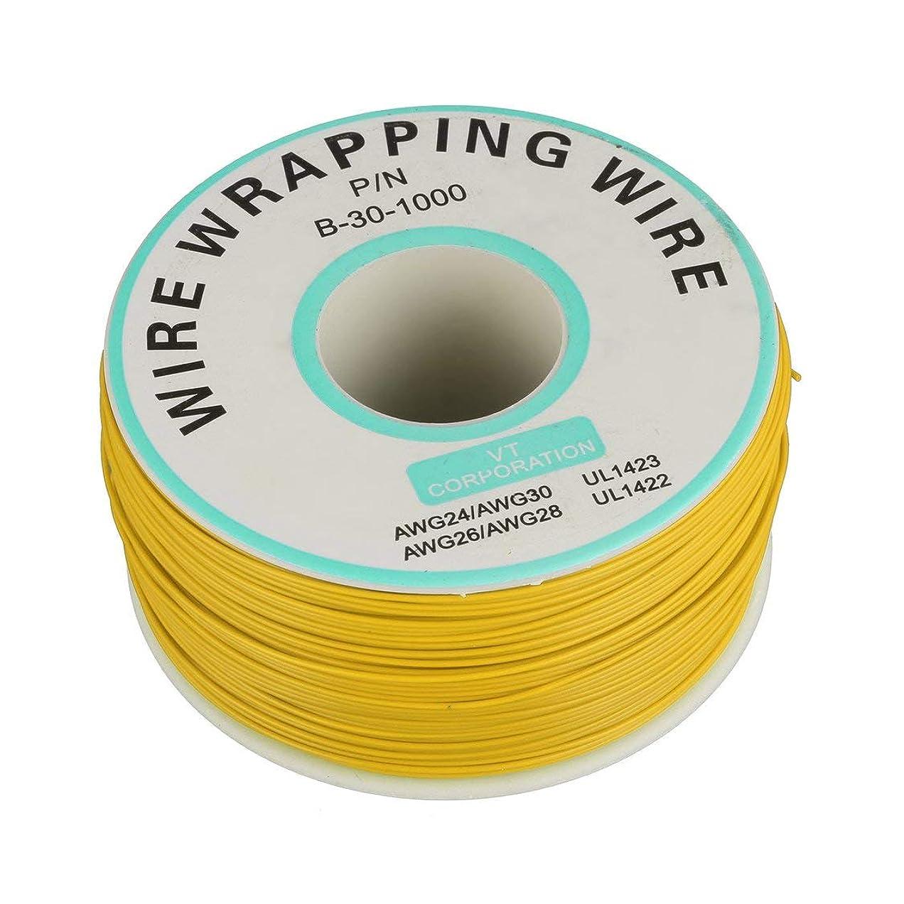制裁指フェリー250m 30awgシングルコア銅線Okライン回路フライラインPcbジャンパー線電子溶接ケーブル
